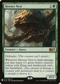 Hornet Nest, Magic: The Gathering, Mystery Booster Cards