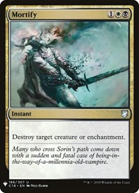 Mortify, Magic: The Gathering, Mystery Booster Cards