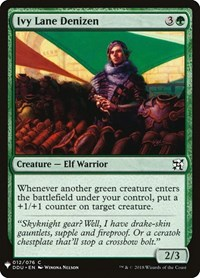 Ivy Lane Denizen, Magic: The Gathering, Mystery Booster Cards