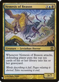 Nemesis of Reason, Magic: The Gathering, Mystery Booster Cards