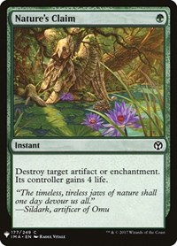 Nature's Claim, Magic, Mystery Booster Cards