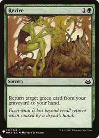 Revive, Magic: The Gathering, Mystery Booster Cards