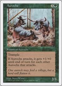 Aurochs, Magic: The Gathering, Fifth Edition