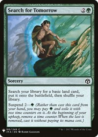 Search for Tomorrow, Magic: The Gathering, Mystery Booster Cards