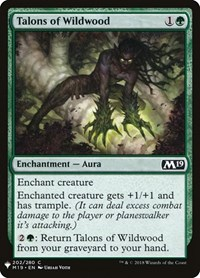 Talons of Wildwood, Magic: The Gathering, Mystery Booster Cards