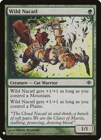 Wild Nacatl, Magic: The Gathering, Mystery Booster Cards