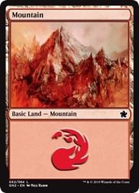 Mountain (62), Magic: The Gathering, Magic Game Night 2019