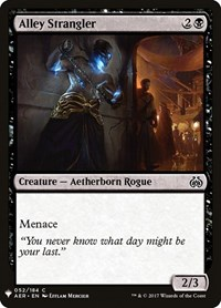 Alley Strangler, Magic: The Gathering, Mystery Booster Cards
