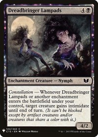 Dreadbringer Lampads, Magic, Mystery Booster Cards