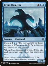 Brine Elemental, Magic: The Gathering, Mystery Booster Cards