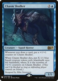 Chasm Skulker, Magic: The Gathering, Mystery Booster Cards