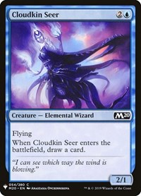 Cloudkin Seer, Magic, Mystery Booster Cards