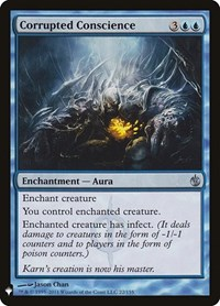 Corrupted Conscience, Magic: The Gathering, Mystery Booster Cards