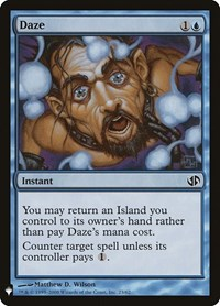 Daze, Magic: The Gathering, Mystery Booster Cards