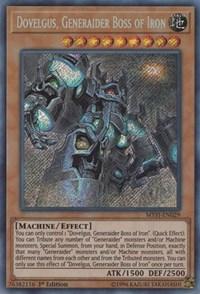 Generaider Boss of Swords MYFI-EN028 Frodi 1st Edition x3 Super Rare Ne