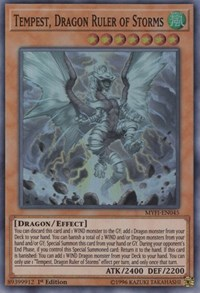Tempest, Dragon Ruler of Storms, YuGiOh, Mystic Fighters