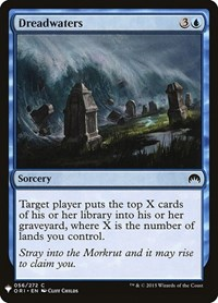 Dreadwaters, Magic: The Gathering, Mystery Booster Cards