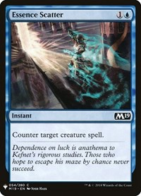 Essence Scatter, Magic: The Gathering, Mystery Booster Cards