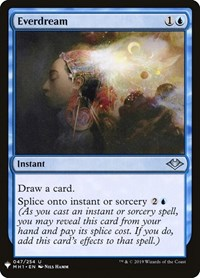 Everdream, Magic: The Gathering, Mystery Booster Cards