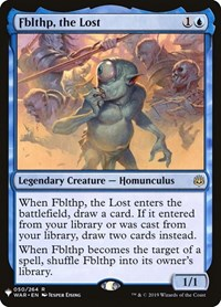 Fblthp, the Lost, Magic: The Gathering, Mystery Booster Cards