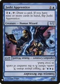 Jushi Apprentice // Tomoya the Revealer, Magic: The Gathering, Mystery Booster Cards