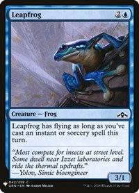 Leapfrog, Magic: The Gathering, Mystery Booster Cards