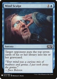 Mind Sculpt, Magic: The Gathering, Mystery Booster Cards