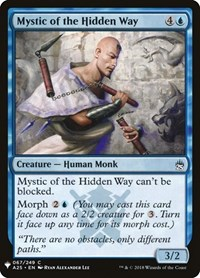 Mystic of the Hidden Way, Magic: The Gathering, Mystery Booster Cards