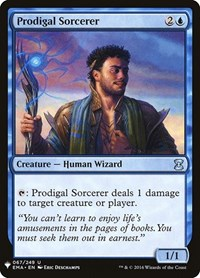 Prodigal Sorcerer, Magic: The Gathering, Mystery Booster Cards