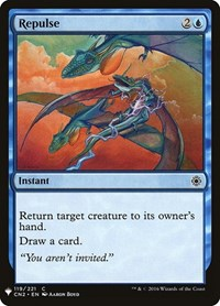 Repulse, Magic: The Gathering, Mystery Booster Cards
