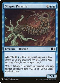 Shaper Parasite, Magic: The Gathering, Mystery Booster Cards