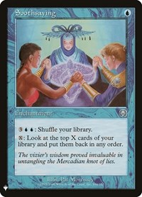 Soothsaying, Magic, Mystery Booster Cards