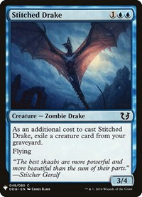 Stitched Drake, Magic: The Gathering, Mystery Booster Cards