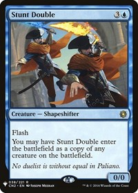 Stunt Double, Magic: The Gathering, Mystery Booster Cards