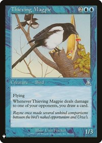 Thieving Magpie, Magic: The Gathering, Mystery Booster Cards