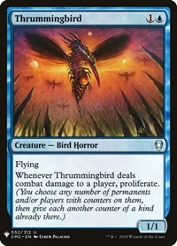 Thrummingbird, Magic: The Gathering, Mystery Booster Cards