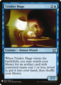 Trinket Mage, Magic: The Gathering, Mystery Booster Cards