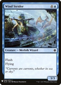 Wind Strider, Magic, Mystery Booster Cards