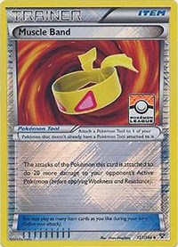 Muscle Band (League Promo), Pokemon, League & Championship Cards