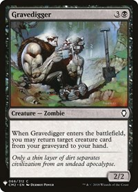 Gravedigger, Magic: The Gathering, Mystery Booster Cards