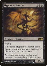 Hypnotic Specter, Magic: The Gathering, Mystery Booster Cards