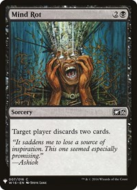 Mind Rot, Magic: The Gathering, Mystery Booster Cards