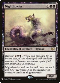 Nighthowler, Magic: The Gathering, Mystery Booster Cards