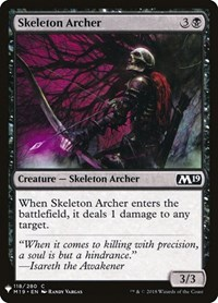 Skeleton Archer, Magic: The Gathering, Mystery Booster Cards