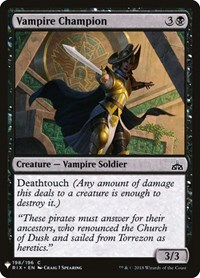 Vampire Champion, Magic: The Gathering, Mystery Booster Cards