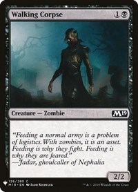 Walking Corpse, Magic: The Gathering, Mystery Booster Cards
