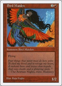 Bird Maiden, Magic: The Gathering, Fifth Edition