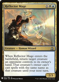 Reflector Mage, Magic: The Gathering, Mystery Booster Cards