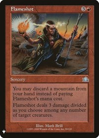 Flameshot, Magic: The Gathering, Mystery Booster Cards