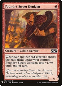 Foundry Street Denizen, Magic: The Gathering, Mystery Booster Cards